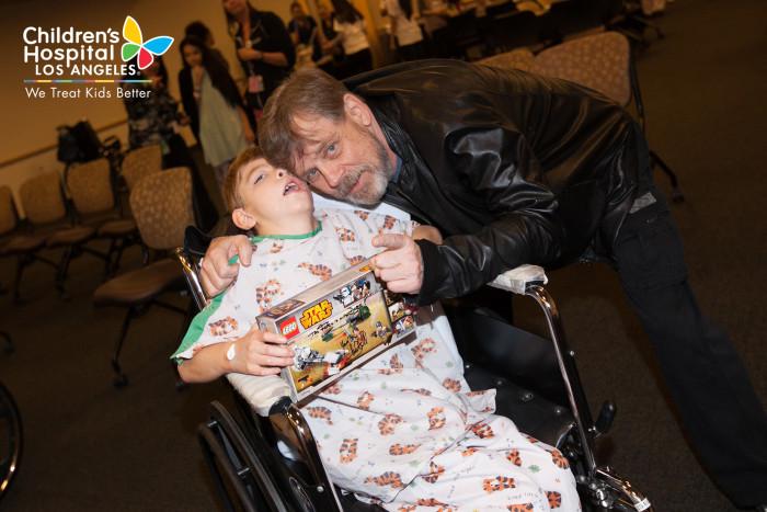 Mark Hamill, 'Star Wars' characters cheer up sick kids at ...
