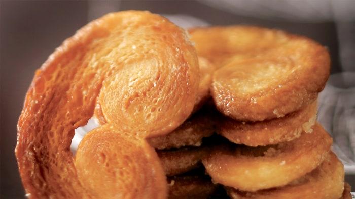 Palmiers Cookies