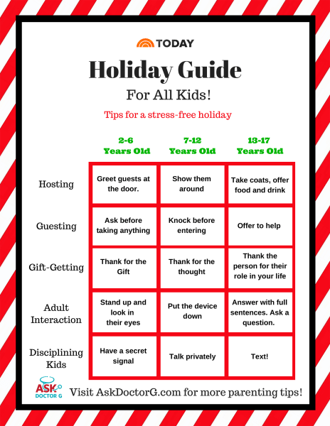 How to get your children to behave during the holidays - TODAY.com