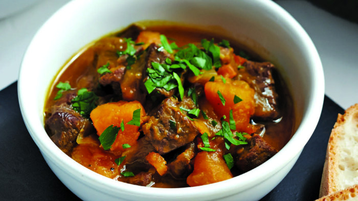 Giada de Laurentiis shares her recipe for slow-cooker crockpot beef and kabocha stew