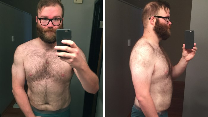 Andy Boyle Lost 75 Pounds After He Stopped Drinking Alcohol