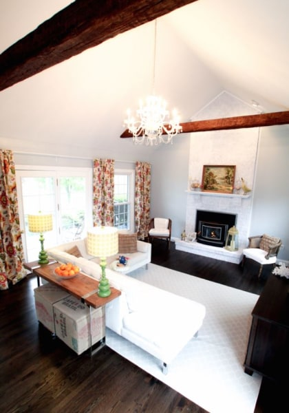 See what this living room looks like after a major makeover – Living Room Looks