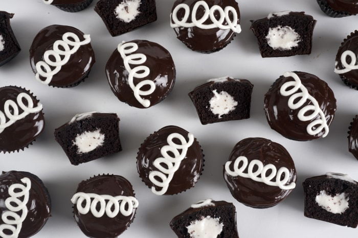 Chloe Coscarelli's Crème-Filled Chocolate Cupcakes