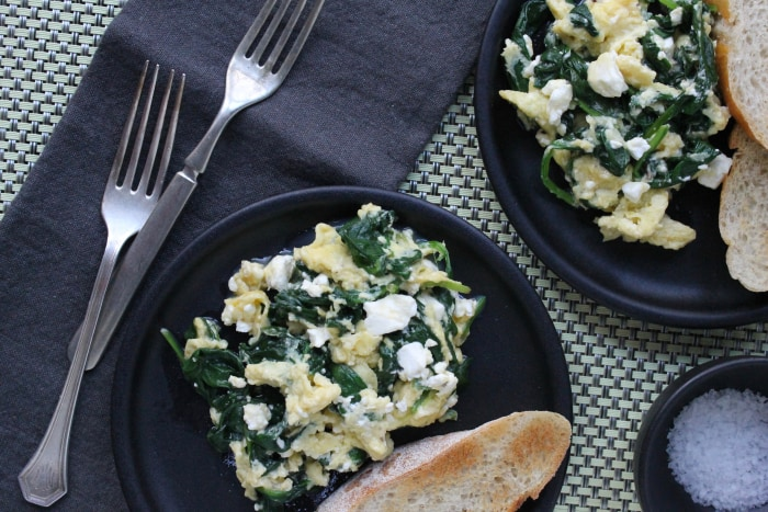 Greek Omelet Scramble