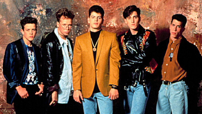 Flashback! Watch New Kids on the Block talk fan 'hysteria ...