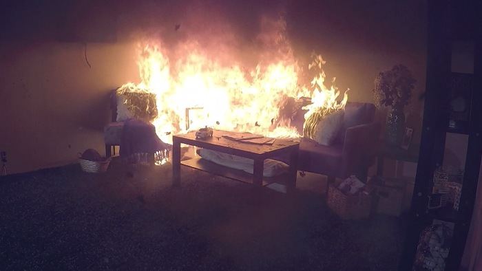 Newer Homes And Furniture Burn Faster Giving You Less