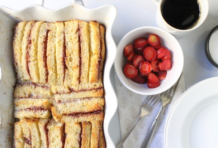 Stuffed French Toast Casserole