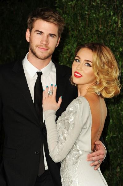 Liam Hemsworth, Miley Cyrus reportedly engaged again ...
