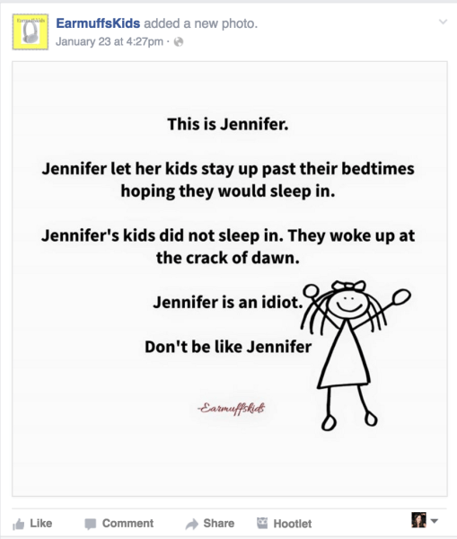These 11 Facebook parenting posts made us laugh this week Earmuffskids_baa3d4486caeb66214e26c040d88be08.today-inline-large
