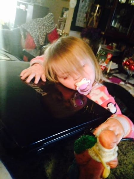 15 Funniest Places Where Kids Have Fallen Asleep That Can