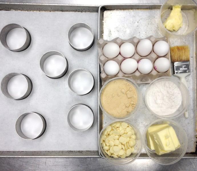 Molten Maple Lava Cakes: Ingredients