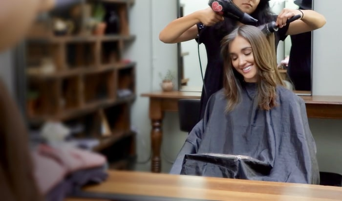 T Styles Hair Salon: The ICape: Meet The Salon Cape That Lets You Use Your