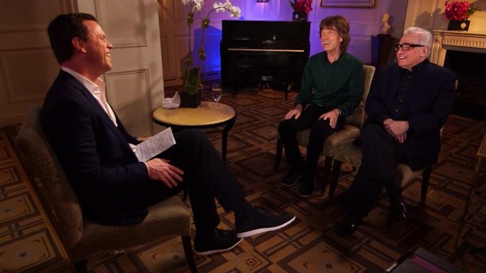 Martin Scorsese And Mick Jagger Talk Vinyl Series