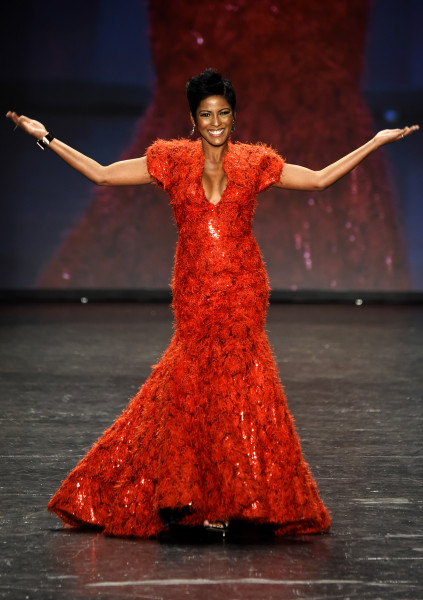 Go Red For Women Tamron Hall Struts For Heart Health In