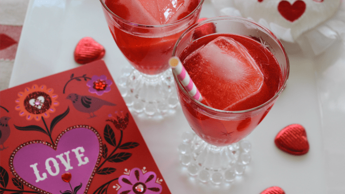 Get Lucky!, a cocktail for two for Valentine's Day