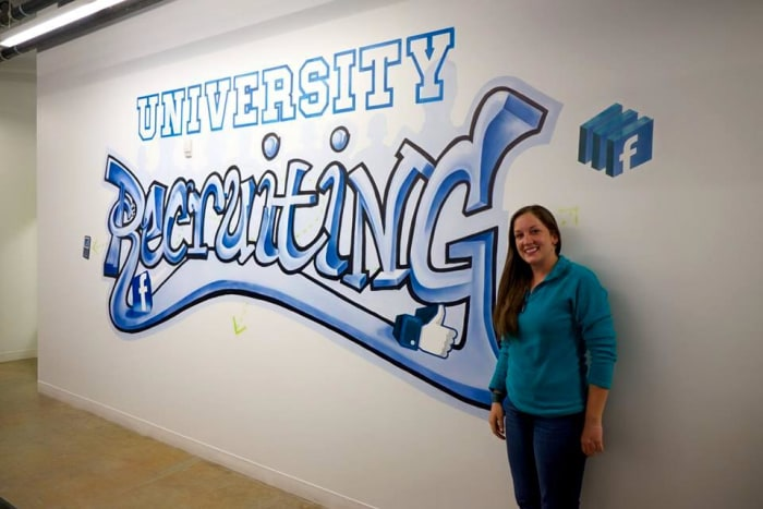 how to land an internship at facebook  be persistent
