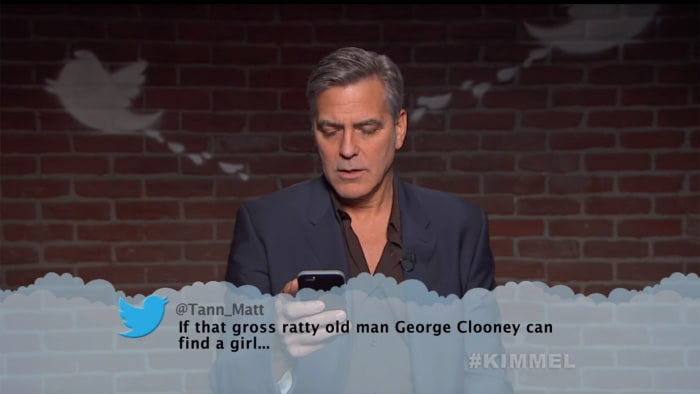 Celebrities Read Mean Tweets #5 - YouTube