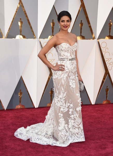 Priyanka Chopra: Oscars 2016 red carpet best dressed
