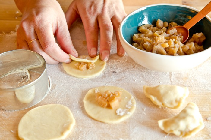 How to prep apple pierogies