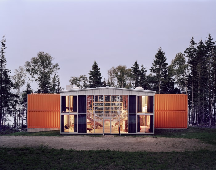 Large Container Homes shipping container home - today