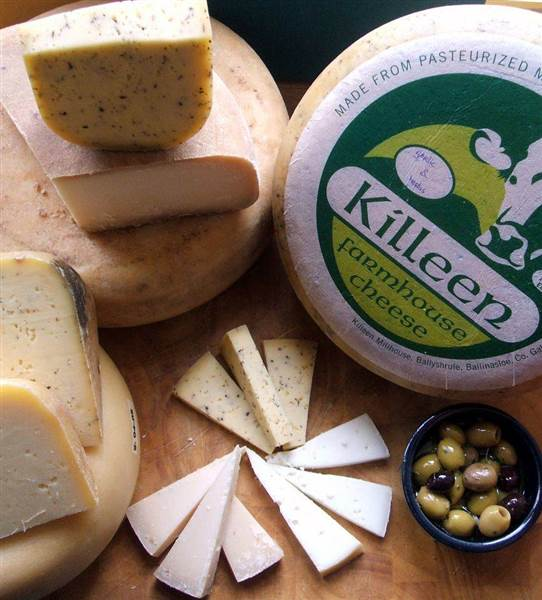 Killeen Irish cheeses
