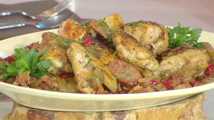 Scott Conant's chicken dish