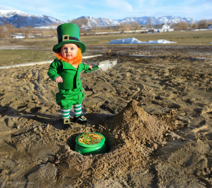 St Patrick S Day For Kids See Dad S Cute Leprechaun