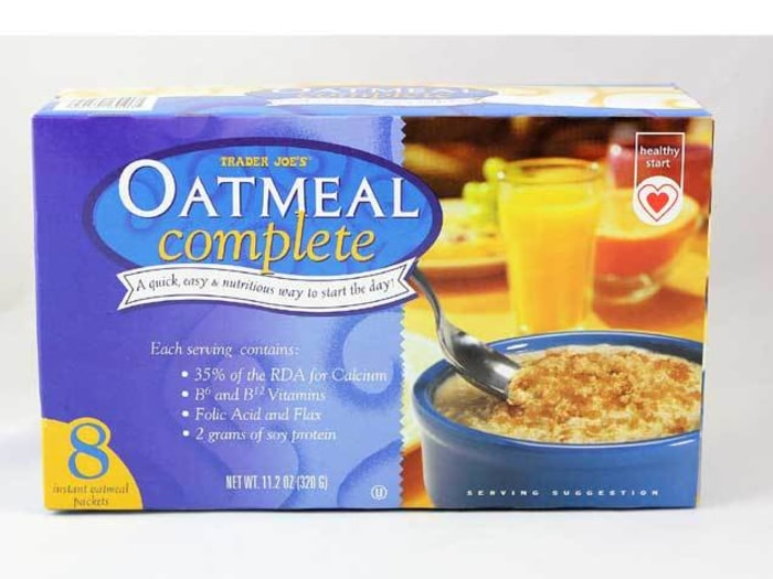 Trader Joe's plain oatmeal