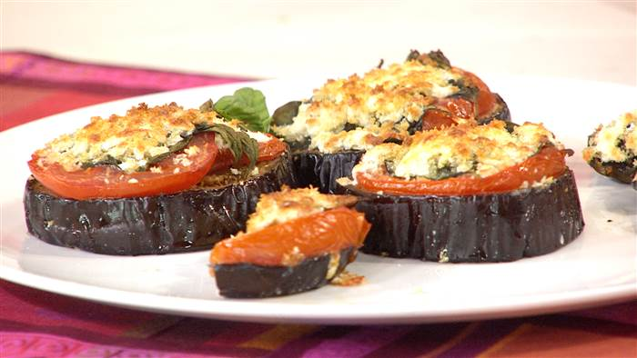 Fast and Healthy Eggplant Parmesan