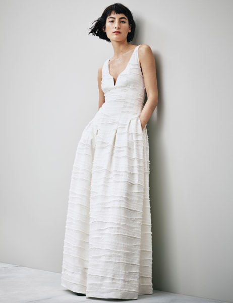 HampM New Conscious Collection Features Affordable And Sustainable Wedding Dresses