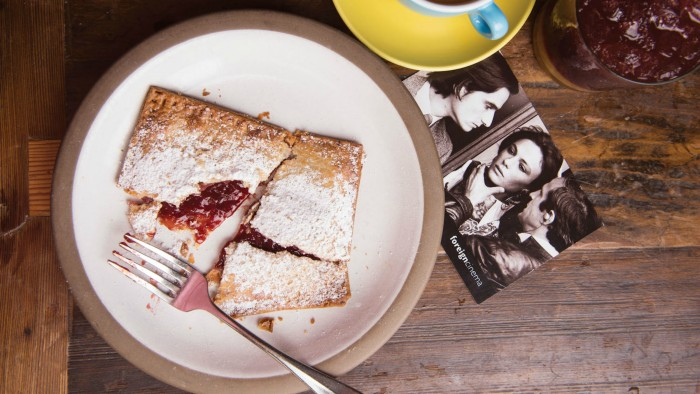 Fruit Tart Pop Tarts by Foreign Cinema in San Francisco from America's Best Breakfasts