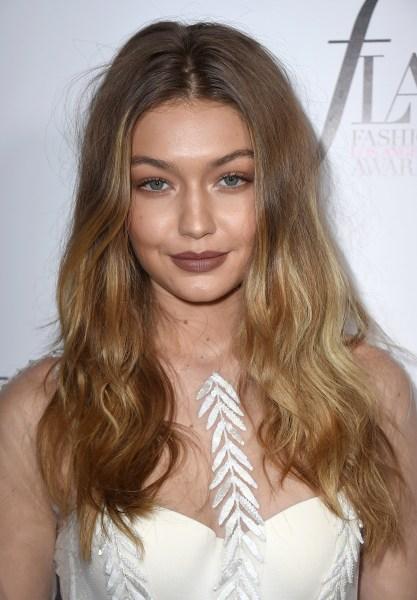 Gigi Hadid hair