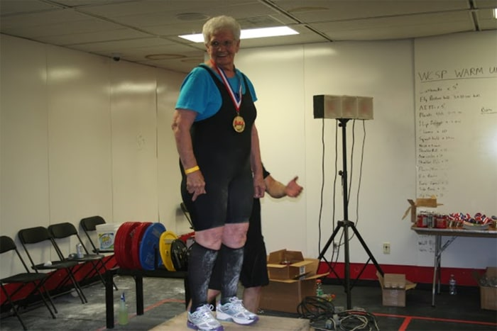 Powerlifting Grandma 78 Can Deadlift 245 Pounds Today Com