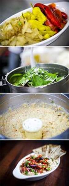 No-cook Mediterranean mezze platter, by chef Michael Psilakis