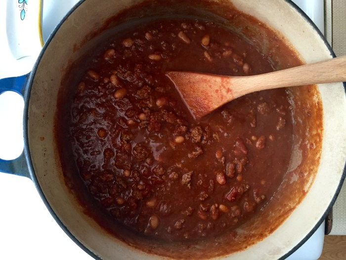 Use homemade taco seasoning mix to make chili