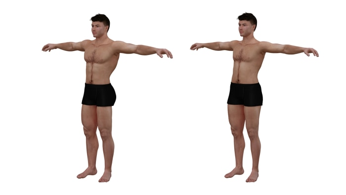 ideal to real what the perfect body really looks like for men