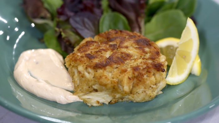 Billy Dec makes a classic crab cake with just 7 ingredients