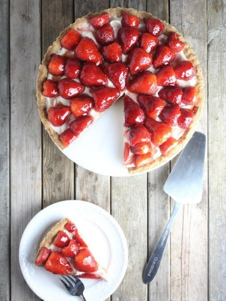 Strawberry mascarpone tart by TODAY Food Club member Holly Sander