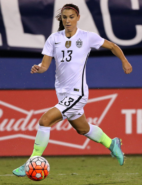 Alex Morgan, U.S. women's soccer star