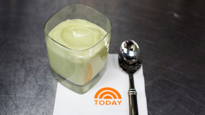 Kourtney Kardashian's three-ingredient avocado pudding