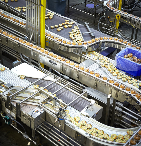 Sabra hummus in production at the dipping company's factory in Colonial Heights, Virginia