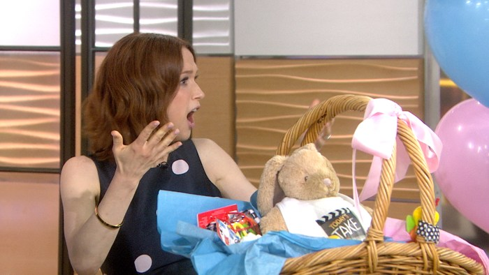 ellie kemper talks pregnancy on today  it u0026 39 s  u0026 39 just like a constant hangover u0026 39