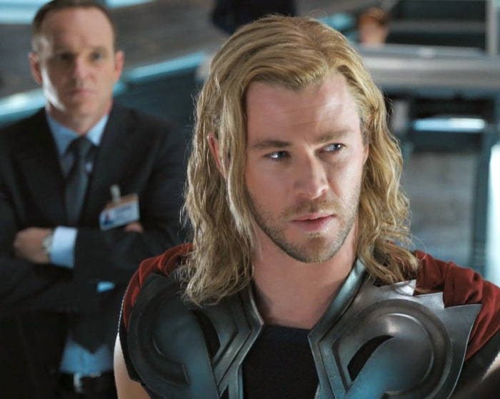 Chris hemsworths daughter wasnt impressed with his thor wig paramount pictures chris hemsworth pmusecretfo Choice Image