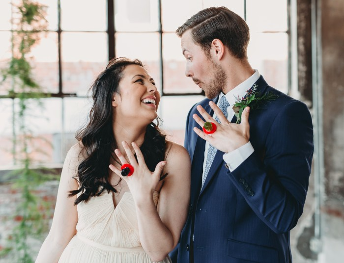 Ring Pop Wedding