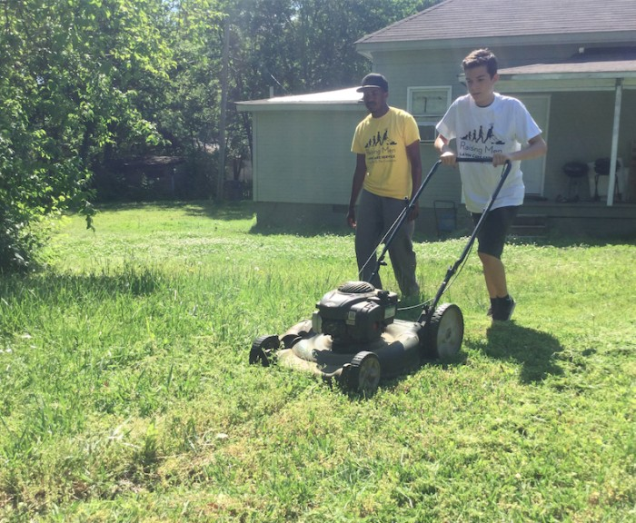 Raising Men Lawn Care Service Changes The Landscape Of