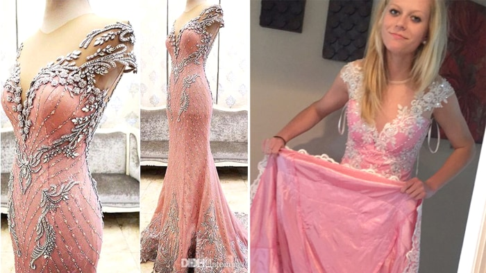 Teen scammed buying prom dress online urges other to look out ...