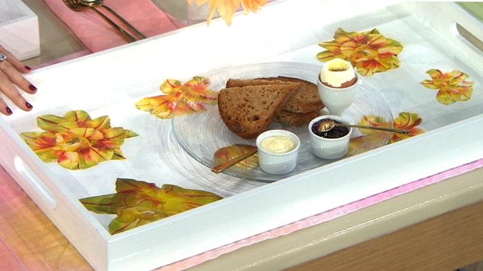 Martha Stewart DIY Mother's Day - Personalized decoupage trays