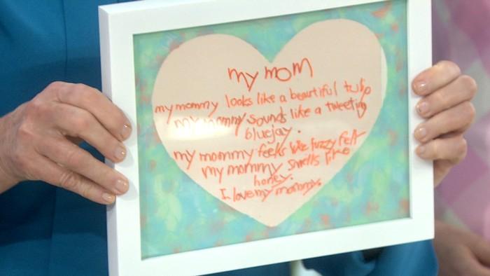 Martha Stewart DIY Mother's Day Heart shadow box