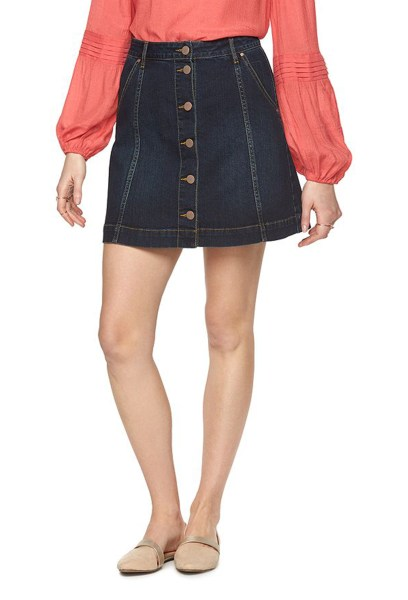 denim skirts mini pencil button up and other styles to