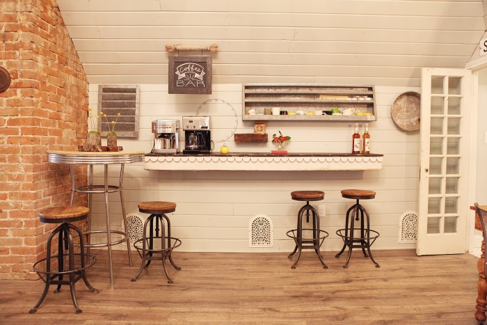 Home Coffee Bar Design Ideas: Chip And Joanna Gaines 'Fixer Upper' Home Tour In Waco